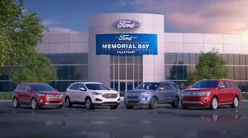 Ford Memorial Day Sales Event TV Spot, 'Time to Gear Up' [T2]