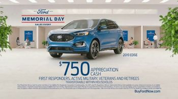 Ford Memorial Day Sales Event TV Spot, 'Time to Gear Up' [T2] - Thumbnail 5