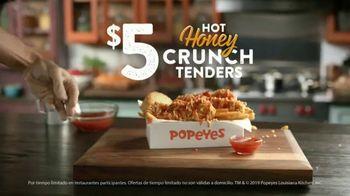 Popeyes Hot Honey Crunch Tenders TV Spot, 'Dulce o picante' [Spanish] - Thumbnail 7