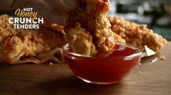 Popeyes Hot Honey Crunch Tenders TV Spot, 'Dulce o picante' [Spanish] - Thumbnail 4