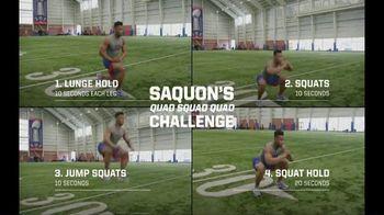 NFL 100 TV Spot, 'Saquon's Quad Squad Quad Challenge' - 23 commercial airings
