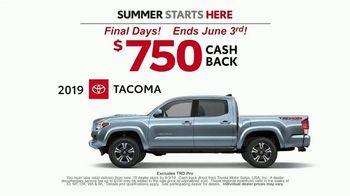 Toyota Summer Starts Here TV Spot, 'Dominoes' [T2] - Thumbnail 5