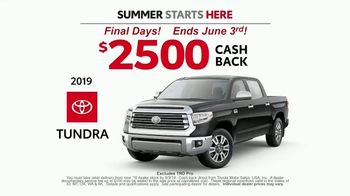Toyota Summer Starts Here TV Spot, 'Dominoes' [T2] - Thumbnail 6