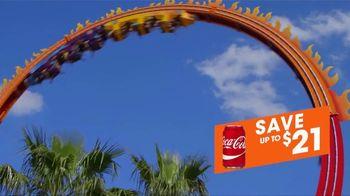 Six Flags Fiesta Texas TV Spot, 'Save With Coca-Cola' - Thumbnail 6