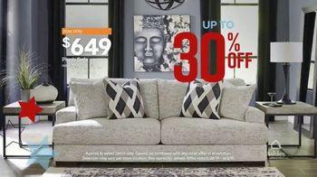 Ashley HomeStore Memorial Day Sale TV Spot, 'Final Days: Plush Sofa' Song by Midnight Riot - Thumbnail 5