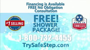 Safe Step Walk-In Tub TV Spot, 'Shower Package Upgrade' - Thumbnail 9