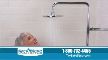 Safe Step Walk-In Tub TV Spot, 'Shower Package Upgrade' - Thumbnail 4