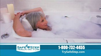 Safe Step Walk-In Tub TV Spot, 'Shower Package Upgrade' - Thumbnail 6