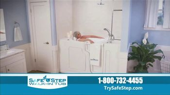 Safe Step Walk-In Tub TV Spot, \'Shower Package Upgrade\'