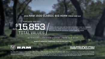 Ram Trucks Memorial Day Sales Event TV Spot, 'More Towing' [T2] - Thumbnail 8