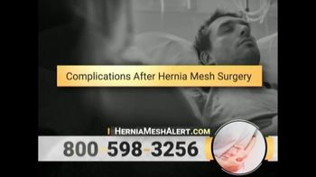 Gold Shield Group TV Spot, 'Hernia Mesh Alert' - Thumbnail 4
