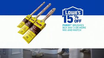 Lowe's TV Spot, 'Paint It Right: Purdy Brushes' - Thumbnail 8