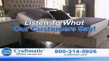 Craftmatic Adjustable Bed TV Spot, 'You Owe It to Yourself' - Thumbnail 1