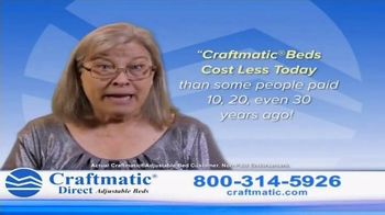 Craftmatic Adjustable Bed TV Spot, 'You Owe It to Yourself' - Thumbnail 3