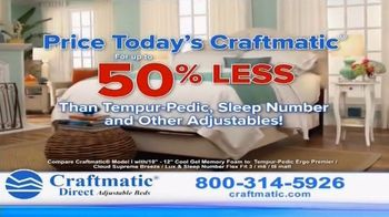 Craftmatic Adjustable Bed TV Spot, 'You Owe It to Yourself' - Thumbnail 4
