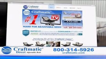 Craftmatic Adjustable Bed TV Spot, 'You Owe It to Yourself' - Thumbnail 5