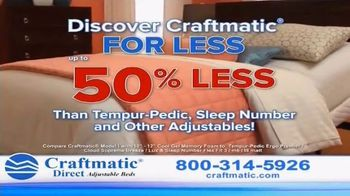 Craftmatic Adjustable Bed TV Spot, 'You Owe It to Yourself' - Thumbnail 6