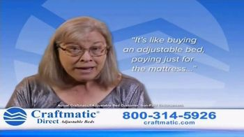 Craftmatic Adjustable Bed TV Spot, 'You Owe It to Yourself'