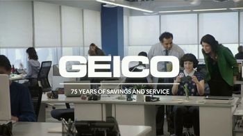 GEICO TV Spot, '75 Years of Savings and Service' - Thumbnail 8
