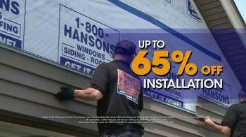 1-800-HANSONS TV Spot, 'Bring You the Best: Siding West' - Thumbnail 4