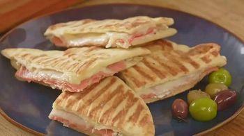 Stonefire Naan Original TV Spot, 'Practical Pantry: BBQ Chicken Tacos, Paninis & Charcuterie' - Thumbnail 7