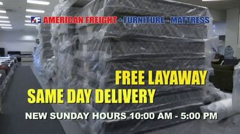 American Freight Lowest Prices of the Year TV Spot, 'Take It Home' - Thumbnail 8