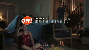 Off! Deep Woods TV Spot, 'Movie Night'