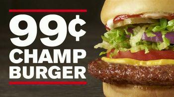 Checkers & Rally's Champ Burger TV Spot, 'Rolling Back' - Thumbnail 9