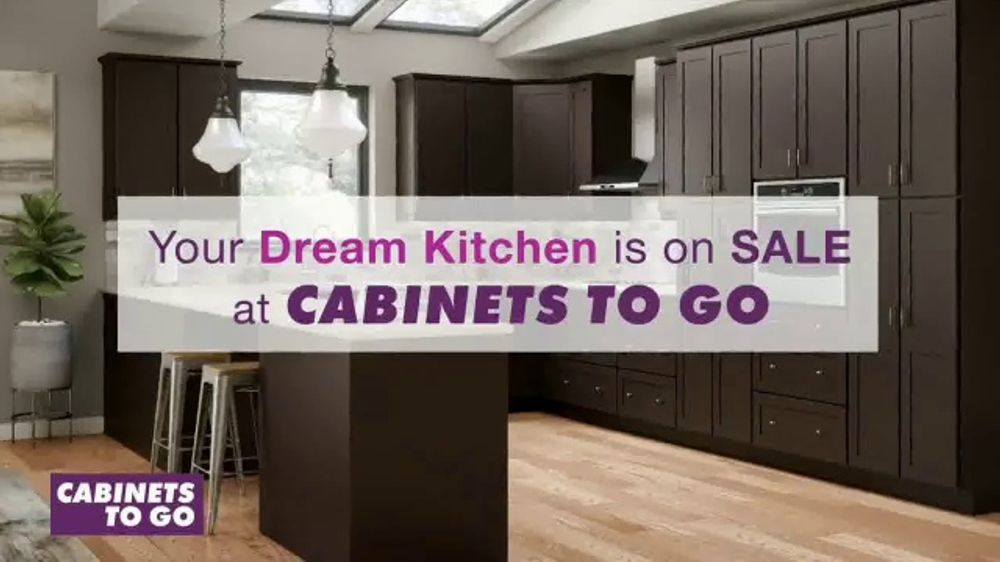 Cabinets To Go TV Commercial, 'Dream Kitchen: 40 Percent'