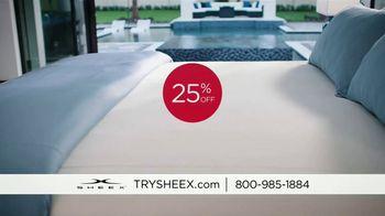 Sheex Performance Sheets TV Spot, '25 Percent Off' - Thumbnail 1