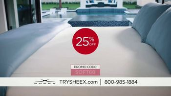Sheex Performance Sheets TV Spot, '25 Percent Off' - Thumbnail 2