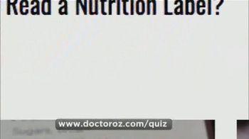 Usana TV Spot: Dr. Oz: Nutrition Label' - Thumbnail 8