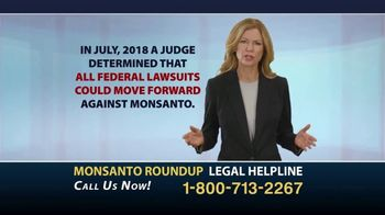Roundup Legal Helpline TV Spot, 'Choose the Right Legal Team'
