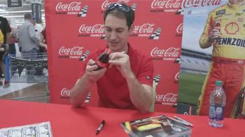 Coca-Cola Consolidated TV Spot, 'Message in a Bottle' featuring Ryan Newman and Joey Logano