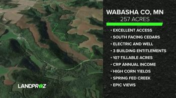LandProz TV Spot, 'Wabasha County Minnesota' - 59 commercial airings