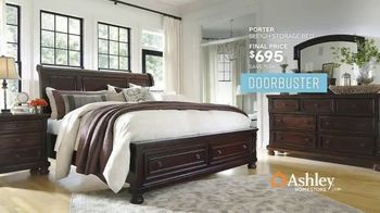 Ashley HomeStore Memorial Day Sale TV Spot, 'Extended: Doorbusters' Song by Midnight Riot - Thumbnail 8