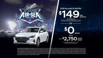 Hyundai Air & Sea Show Sales Event TV Spot, '2019 Elantra & Santa Fe' [T2] - Thumbnail 3