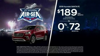 Hyundai Air & Sea Show Sales Event TV Spot, '2019 Elantra & Santa Fe' [T2] - Thumbnail 4