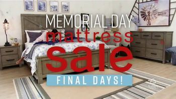 Ashley HomeStore Memorial Day Mattress Sale TV Spot, 'Final Days: Save up to $700' Song by Midnight Riot - Thumbnail 3