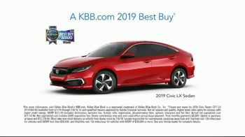 2019 Honda Civic TV Spot, 'Helping People and Not-People' [T2] - Thumbnail 8