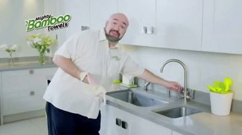 Mighty Bamboo Towels TV Spot, 'Reusable Kitchen Towel'