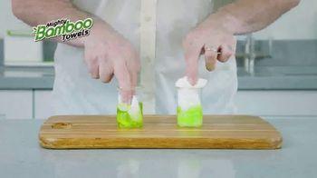 Mighty Bamboo Towels TV Spot, 'Reusable Kitchen Towel' - Thumbnail 6