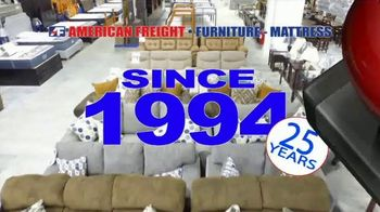 American Freight Lowest Prices of the Year TV Spot, 'Foam Mattress Sets' - Thumbnail 2