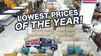 American Freight Lowest Prices of the Year TV Spot, 'Foam Mattress Sets' - Thumbnail 3