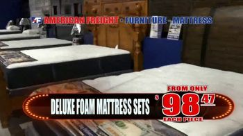 American Freight Lowest Prices of the Year TV Spot, 'Foam Mattress Sets' - Thumbnail 4
