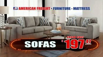 American Freight Lowest Prices of the Year TV Spot, 'Foam Mattress Sets' - Thumbnail 5