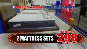 American Freight Lowest Prices of the Year TV Spot, 'Foam Mattress Sets' - Thumbnail 6