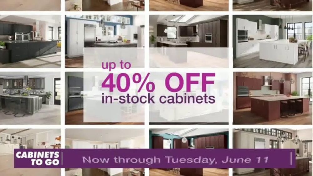 Cabinets To Go TV Commercial, 'Cabinets & Flooring'