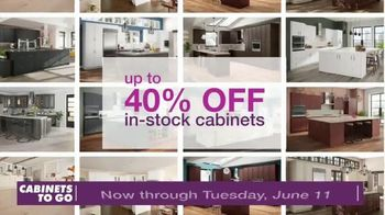 Cabinets To Go TV Spot, \'Cabinets & Flooring\'
