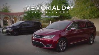Chrysler Memorial Day Sales Event TV Spot, 'Hurry' [T2] - Thumbnail 1